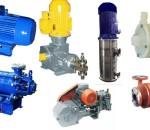 Насосы,элеткродвигатели промышленные в наличии