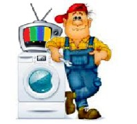 Ремонт стиральных машин, телевизоров, СВЧ на дому
