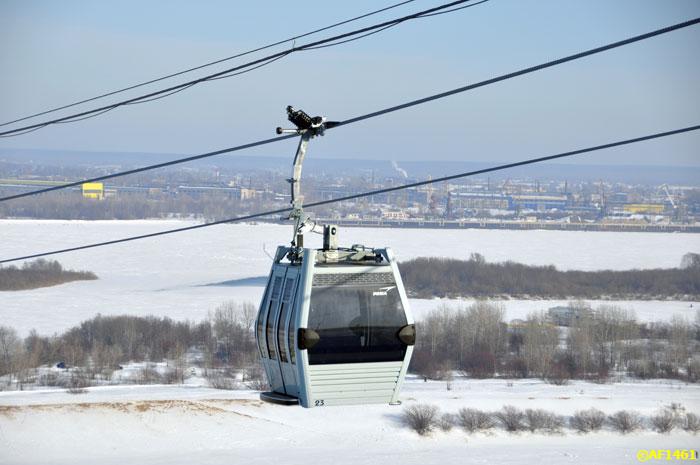В Нижегородской области открылась пригородная канатная дорога