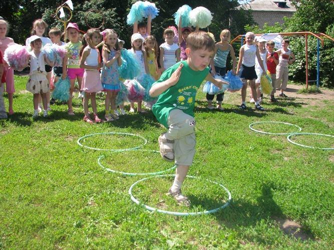 Конкурсы для летнего праздника в детском саду